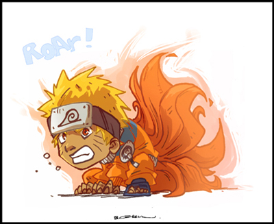 cute anime naruto. Chibi Naruto anime pictures